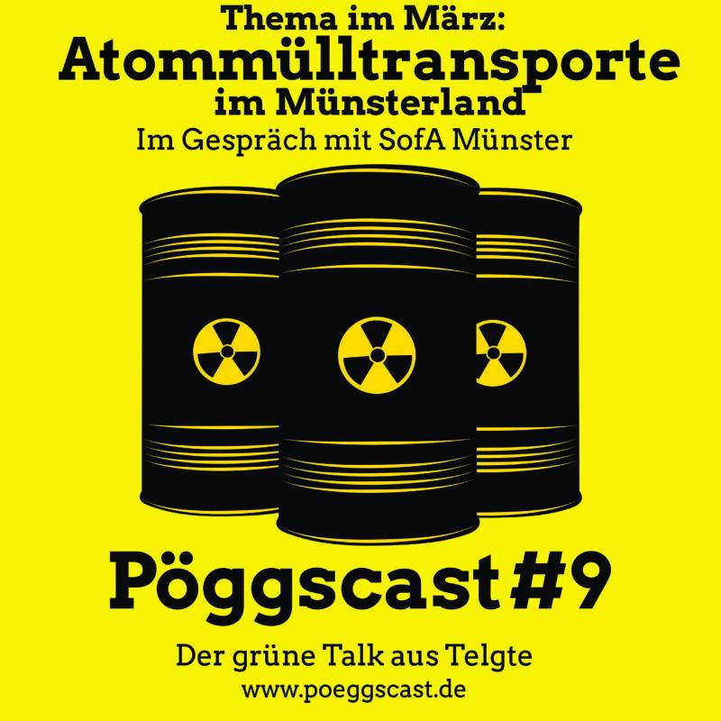 Atommülltransporte im Münsterland